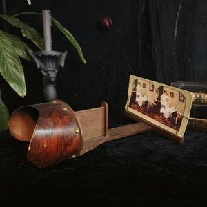 Antique  Edwardian stereoview Stereoscopy.